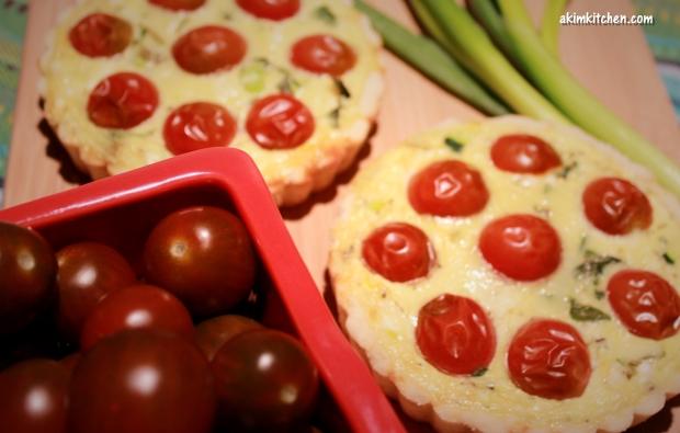 tarte quiche tomate feta oeuf