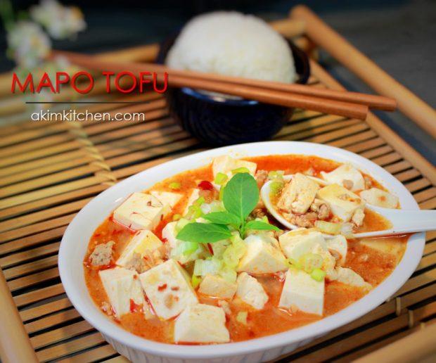 mapo tofu asiatique chinoise