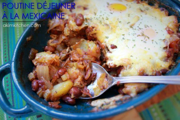 poutine déjeuner Quebec fromage frites