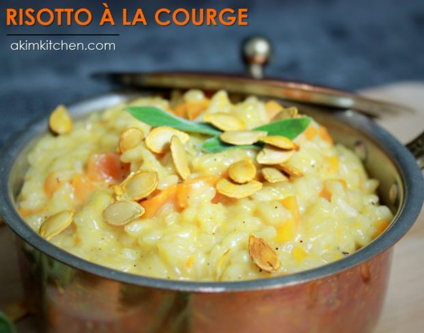 risotto courge riz