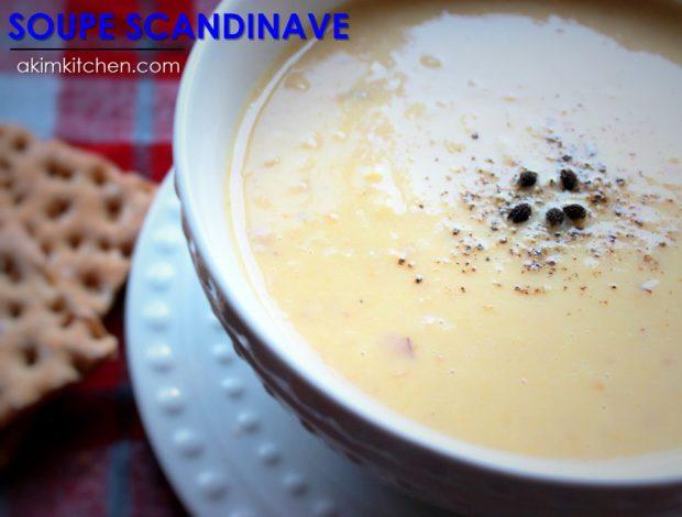 soupe pois scandinave jambon