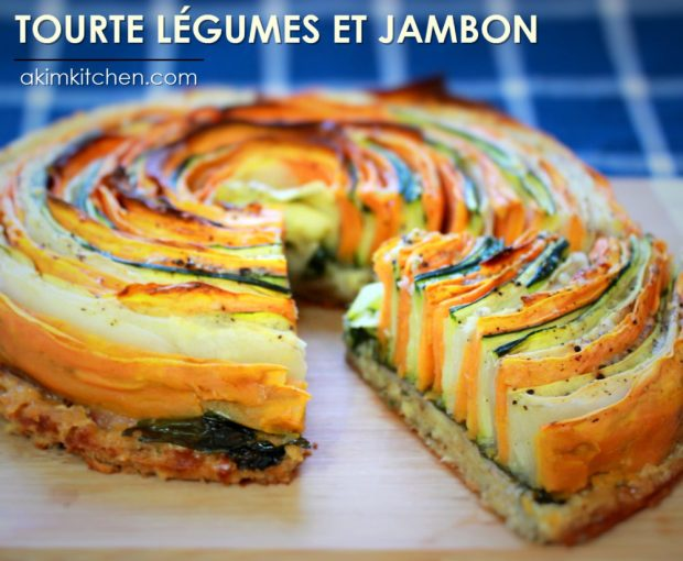 tourte légumes jambon torte pie tarte